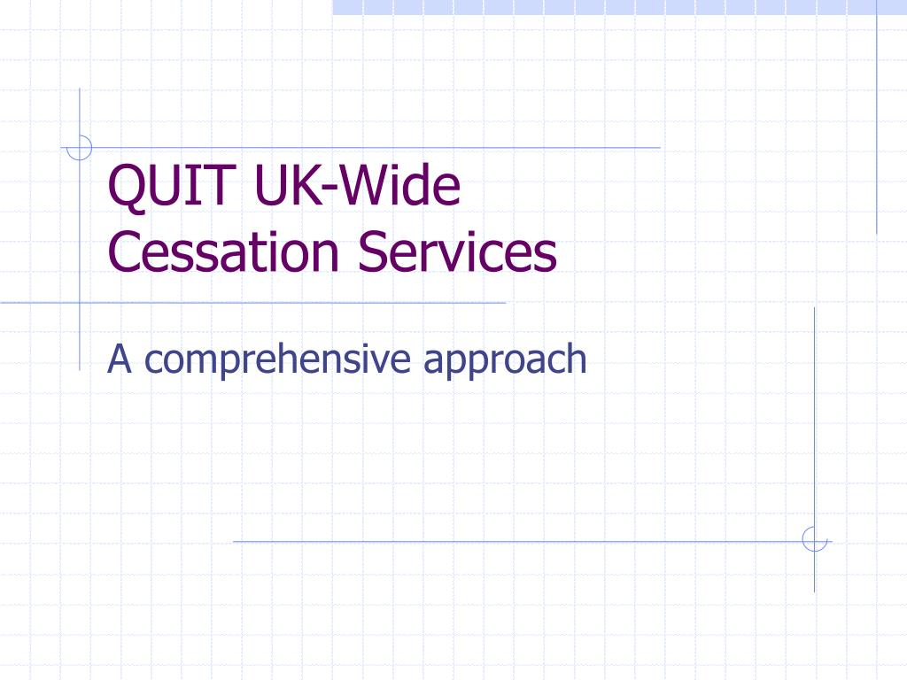 quit uk wide cessation services l.