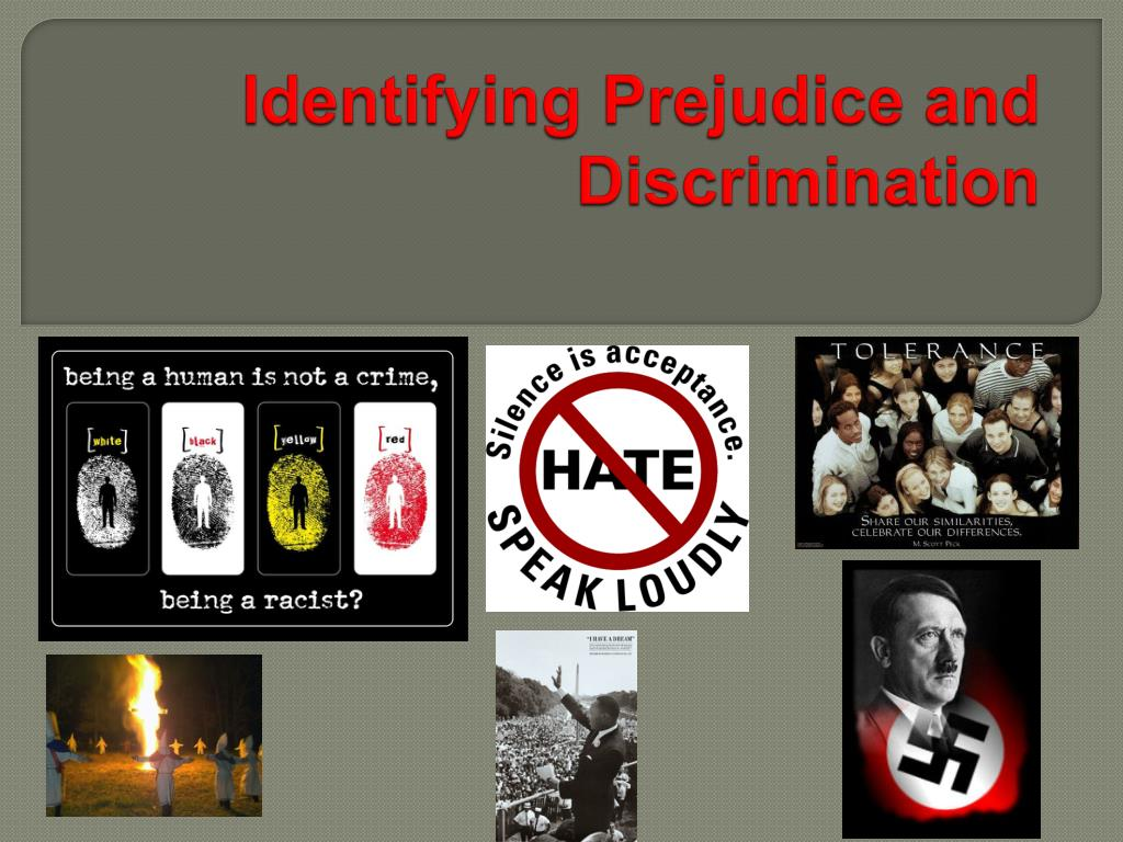 an imaginary story on prejudice and discrimination Though prejudice is often and rightly considered a key cause of discrimination, discrimination can cause prejudice, too discrimination means one group enjoys an undue or undeserved advantage over another group possessing the same qualifications based on arbitrary, or random, standards or criteria.