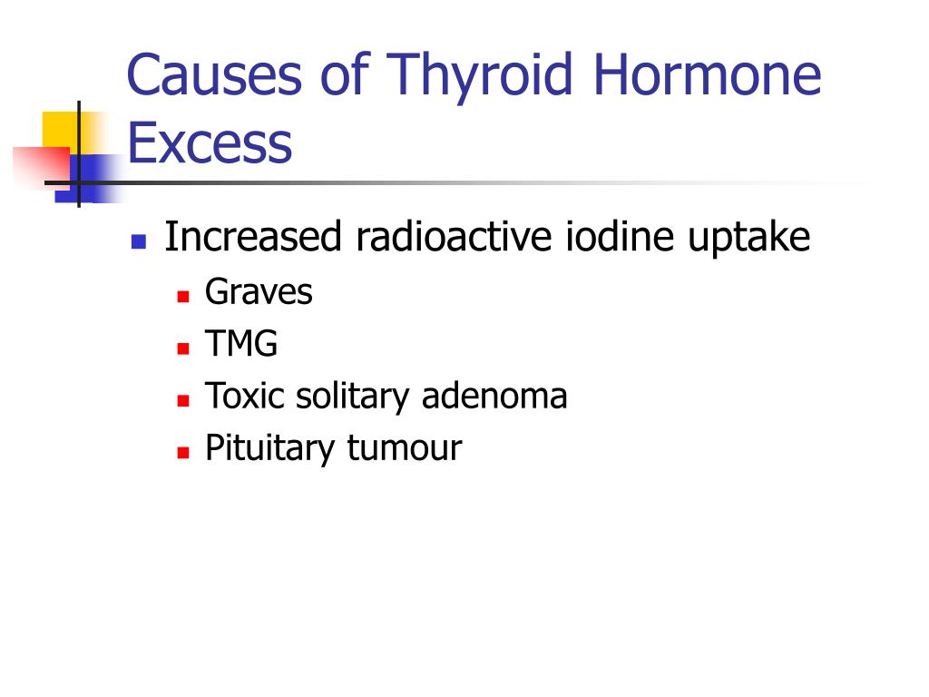 Causes of Thyroid Hormone Excess