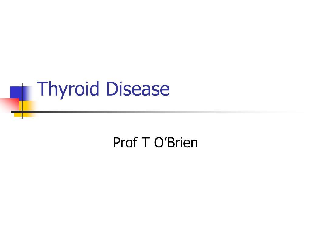 thyroid disease l.