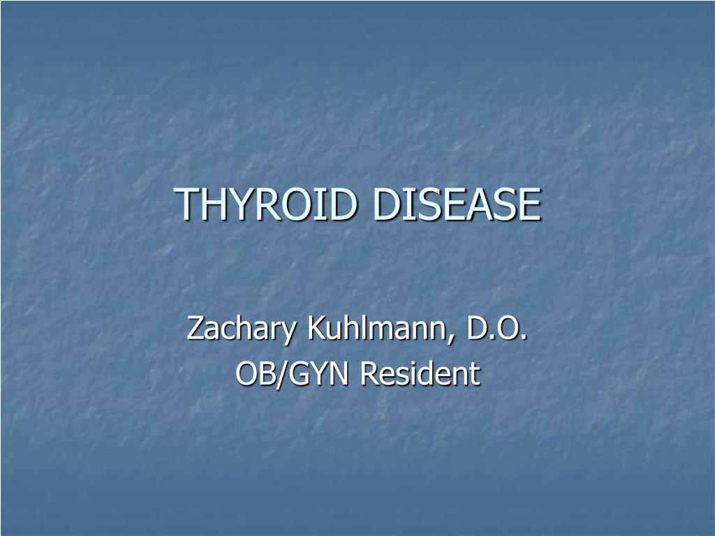 thyroid disease l.