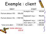 exemple client