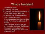 what is havdalah