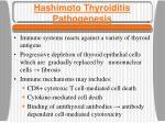 hashimoto thyroiditis pathogenesis