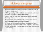 multinodular goiter