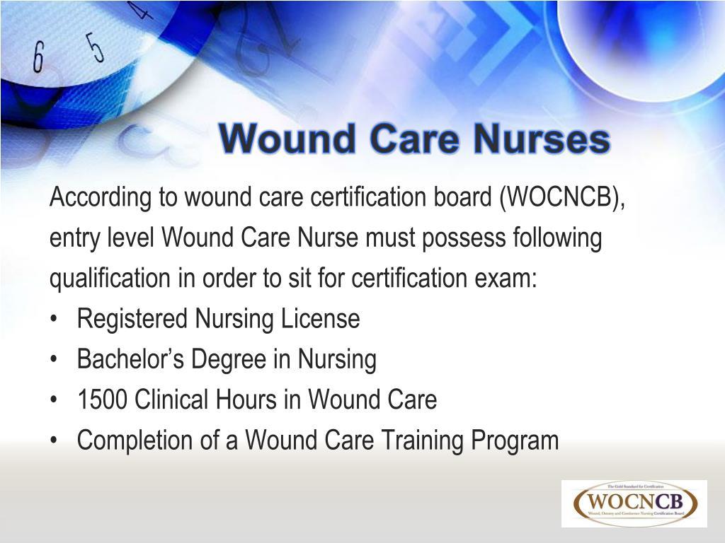 Wound Care Nurses