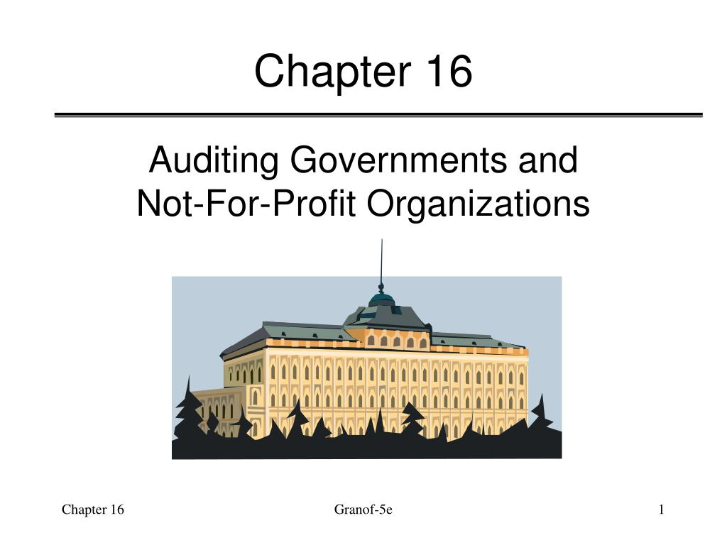 the primary objective of a not for profit organization or a government is to Other organizations for which the primary government is not  the objective of this statement is to  not-for-profit organization or charitable trust.