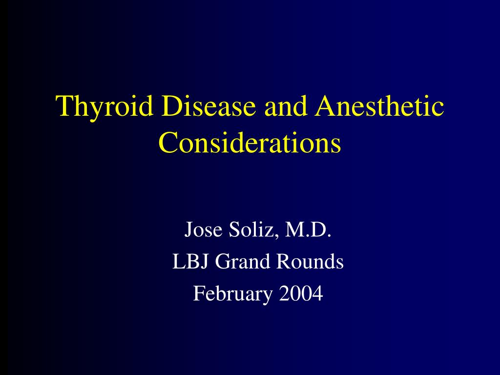 jose soliz m d lbj grand rounds february 2004 l.