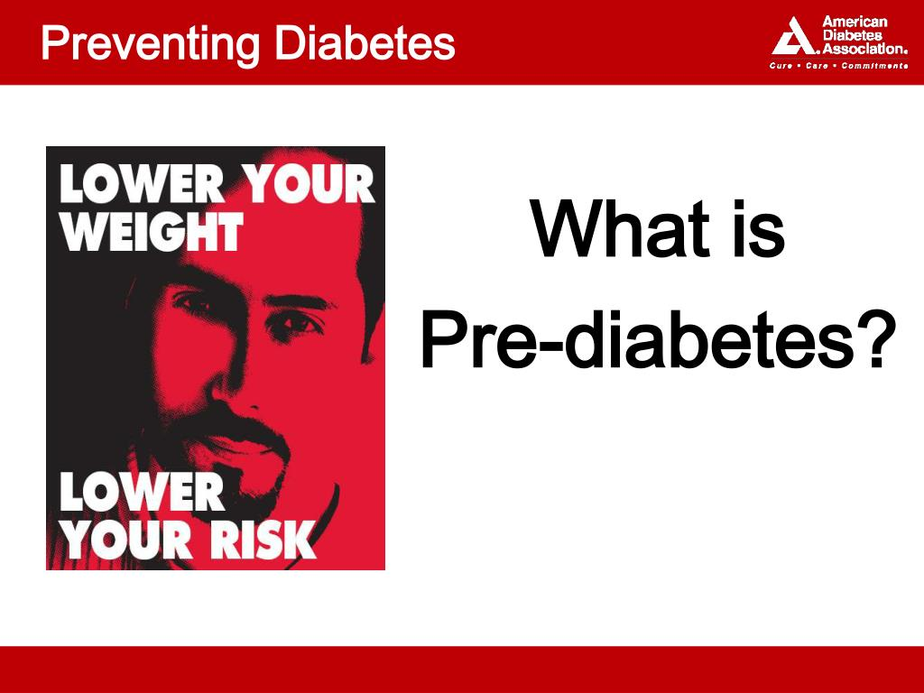 preventing diabetes l.