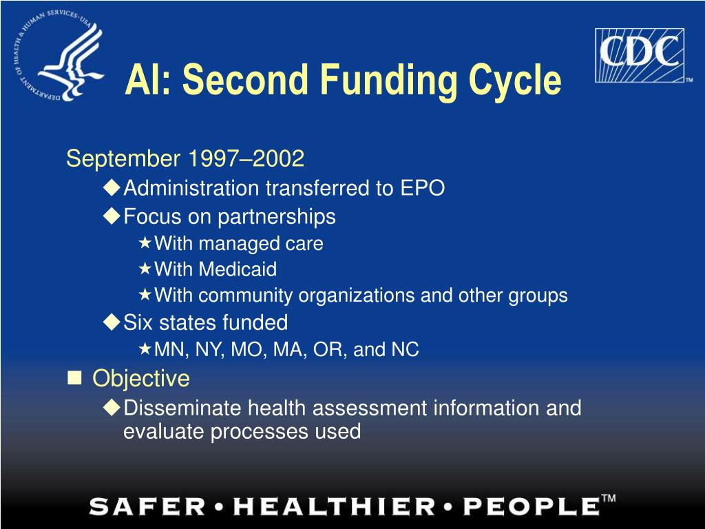 AI: Second Funding Cycle