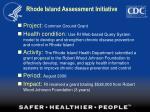 rhode island assessment initiative31