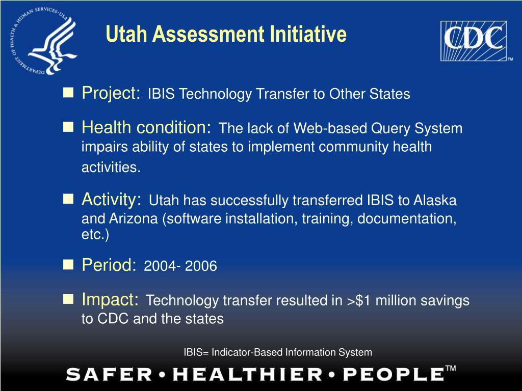 Utah Assessment Initiative
