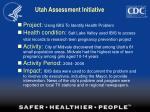utah assessment initiative41