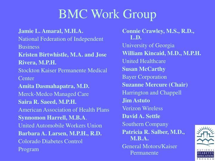 Bmc work group
