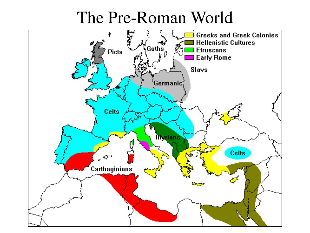 The Pre-Roman World