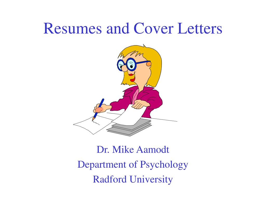 resumes and cover letters l.