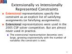 extensionally vs intensionally represented constraints10