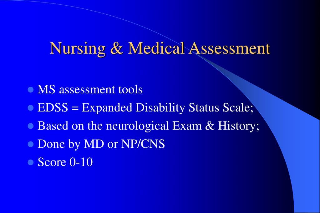 Nursing & Medical Assessment