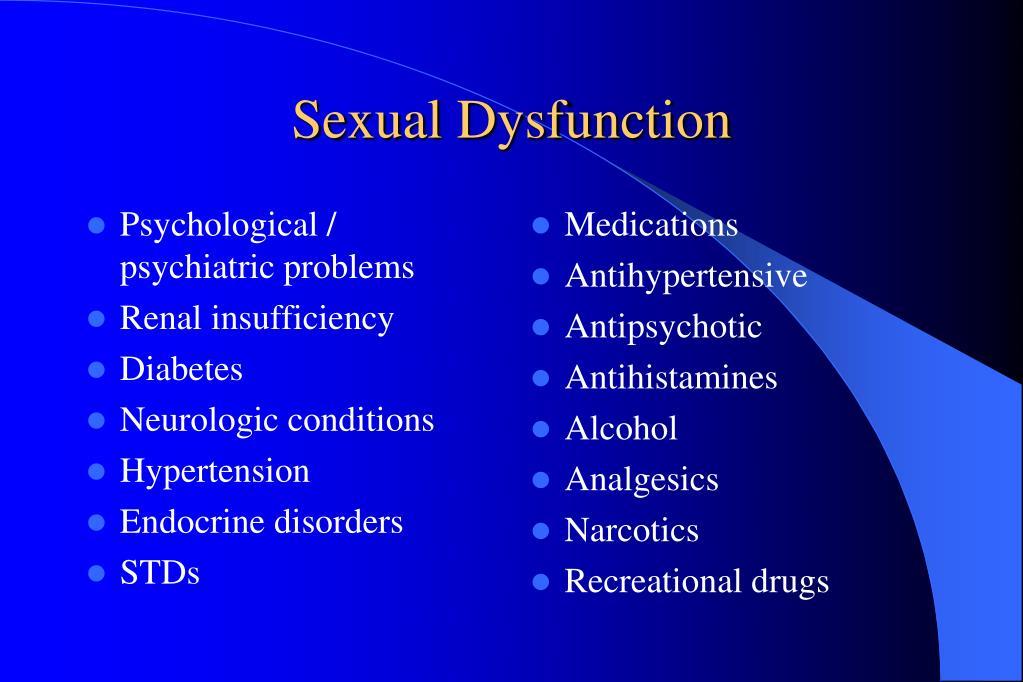 Psychological / psychiatric problems