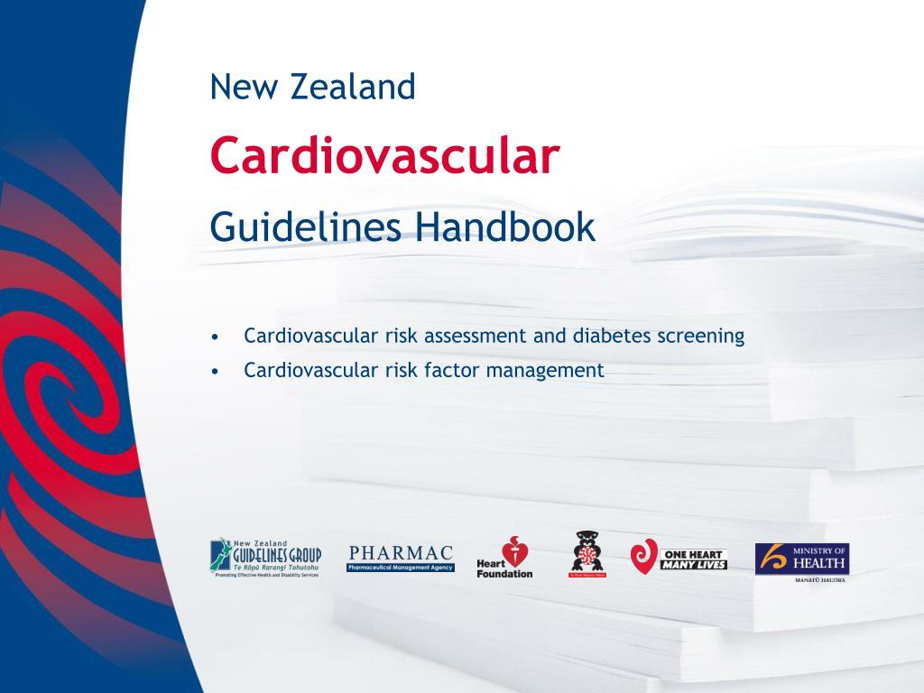 new zealand cardiovascular guidelines handbook