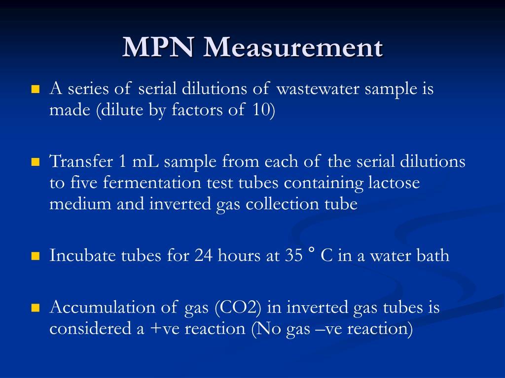 MPN Measurement