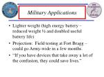 military applications6