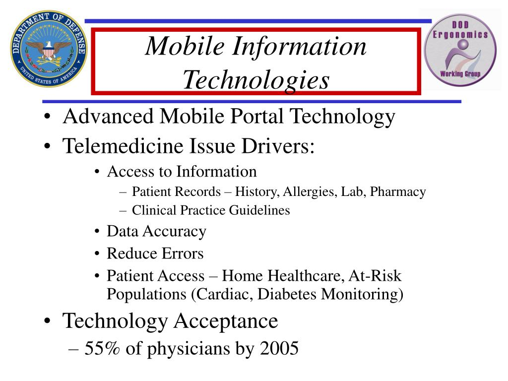 Mobile Information Technologies