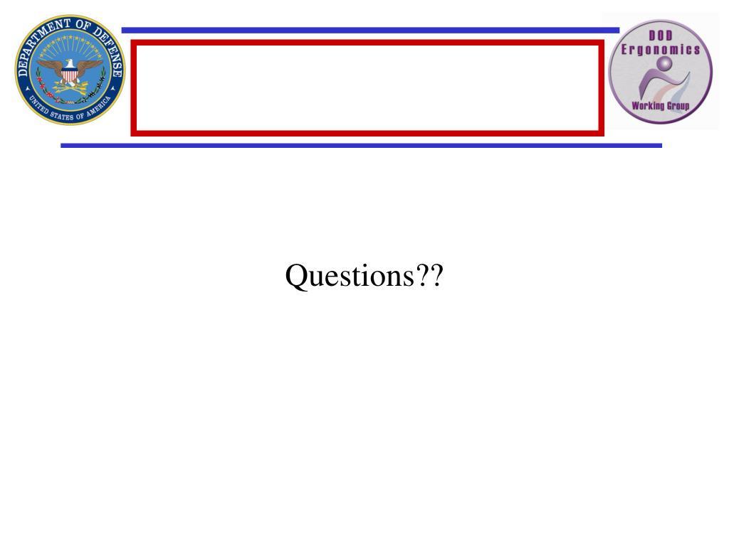 Questions??