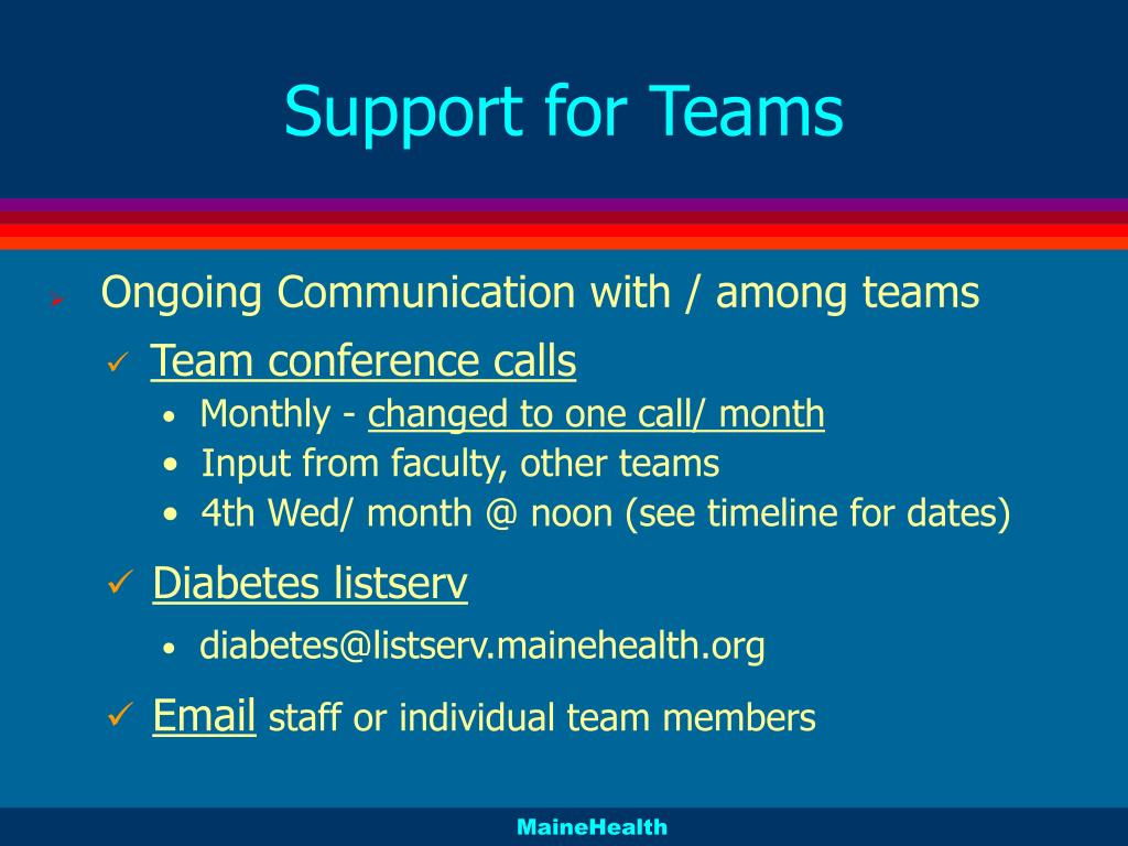 Support for Teams