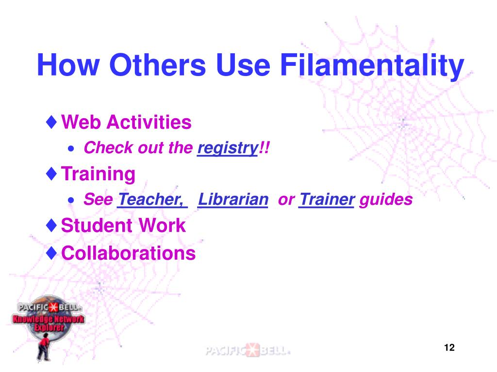 How Others Use Filamentality
