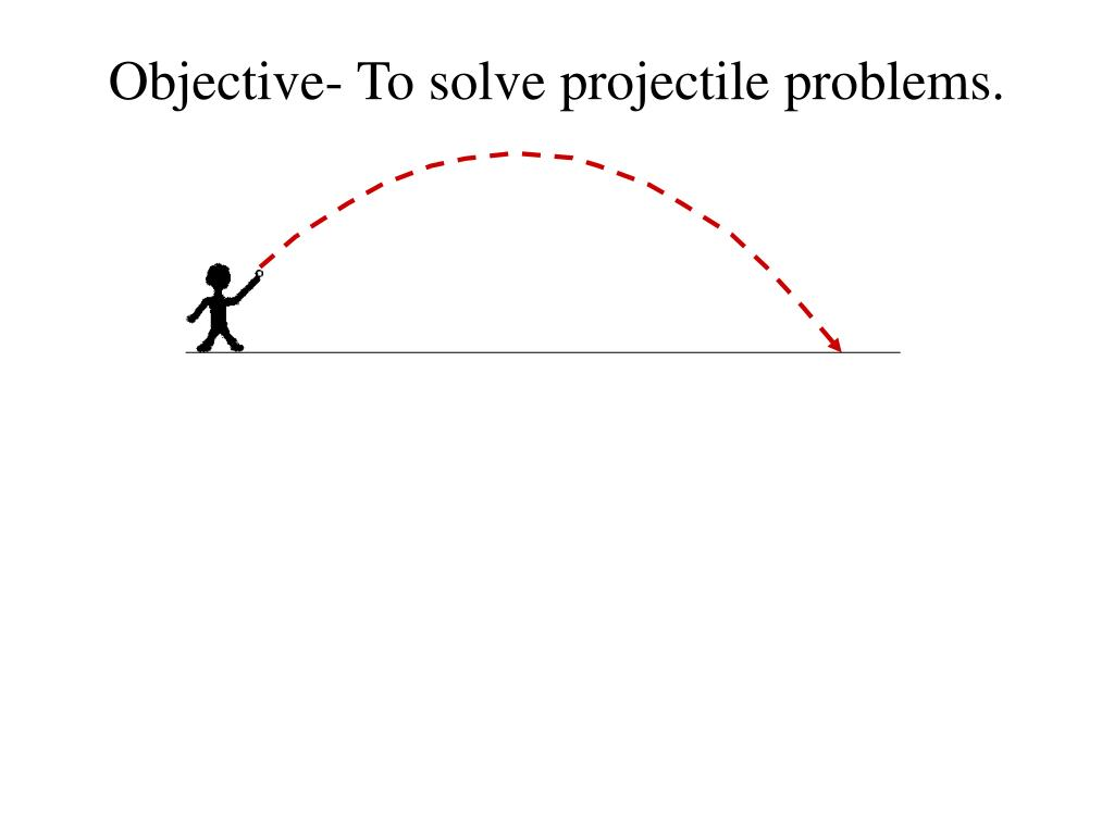 solving projectile problems