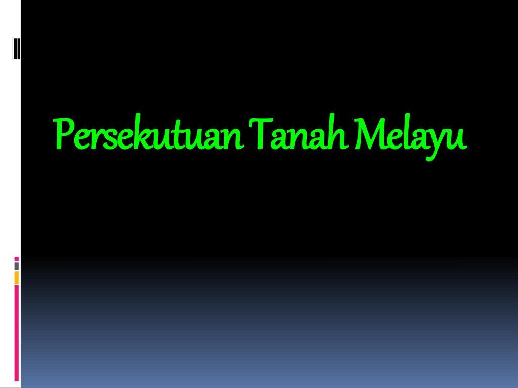 Persekutuan Tanah Melayu