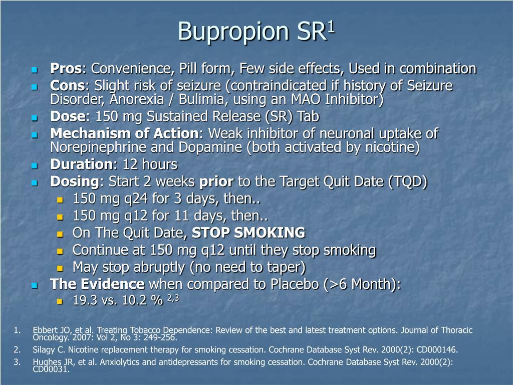 Bupropion SR
