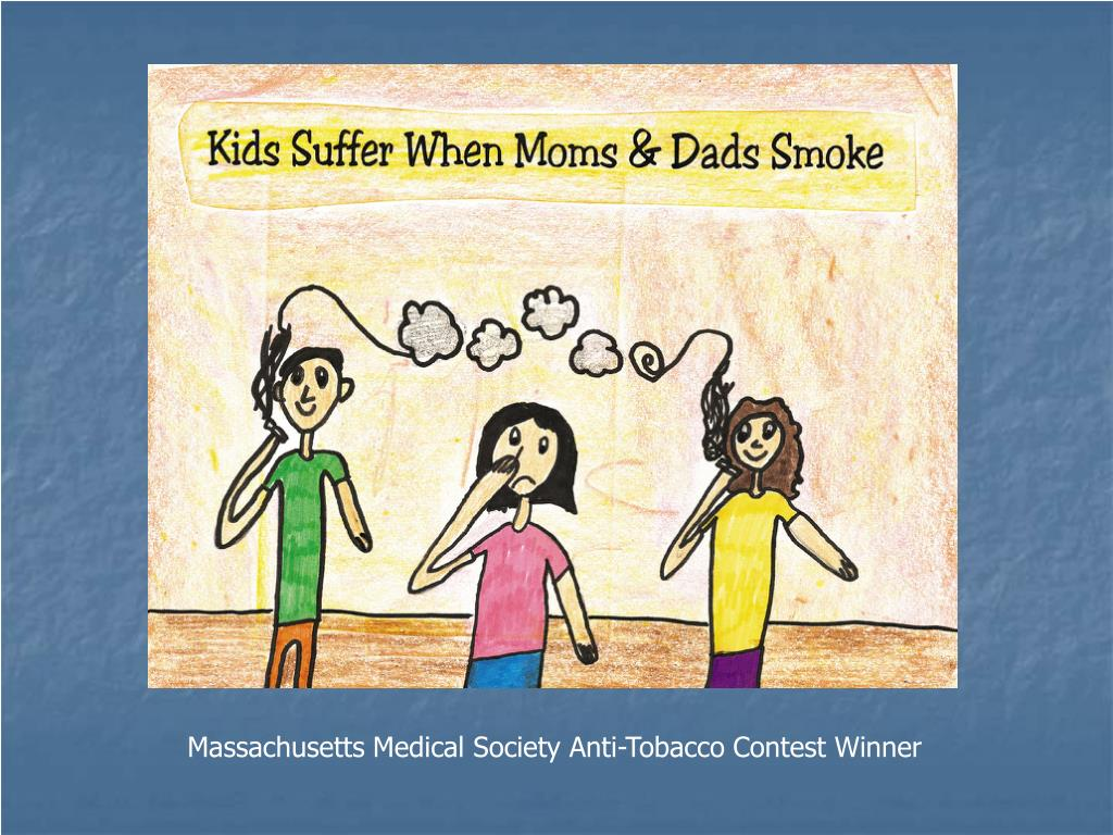 Massachusetts Medical Society Anti-Tobacco Contest Winner