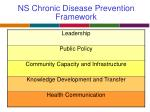 ns chronic disease prevention framework