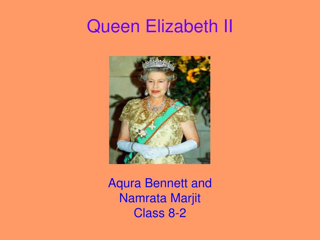 queen elizabeth ii l.