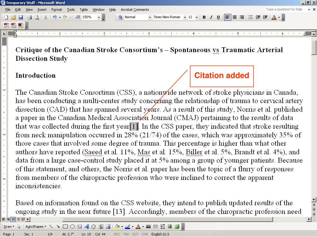 Citation added