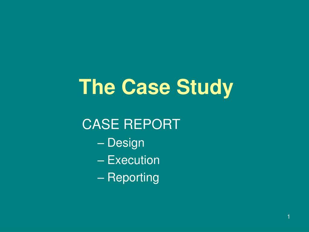 the case study l.
