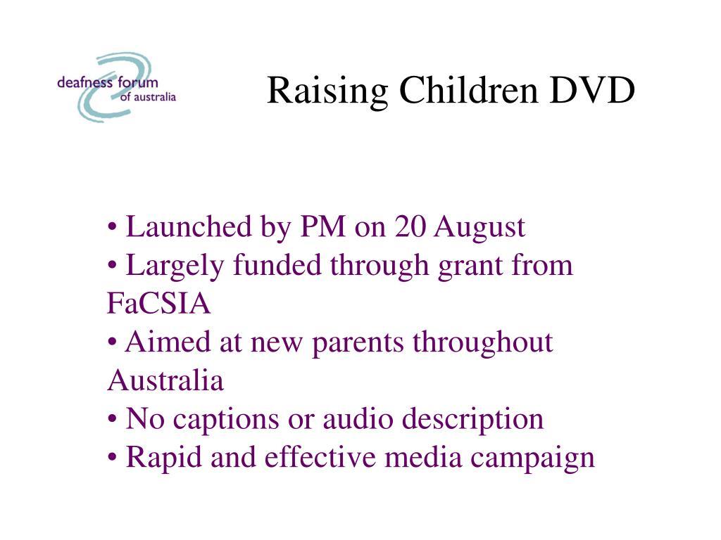 Raising Children DVD