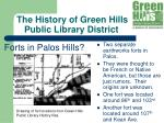 the history of green hills public library district11