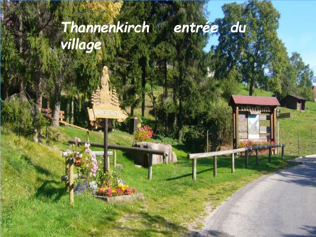 Thannenkirch    entrée  du  village