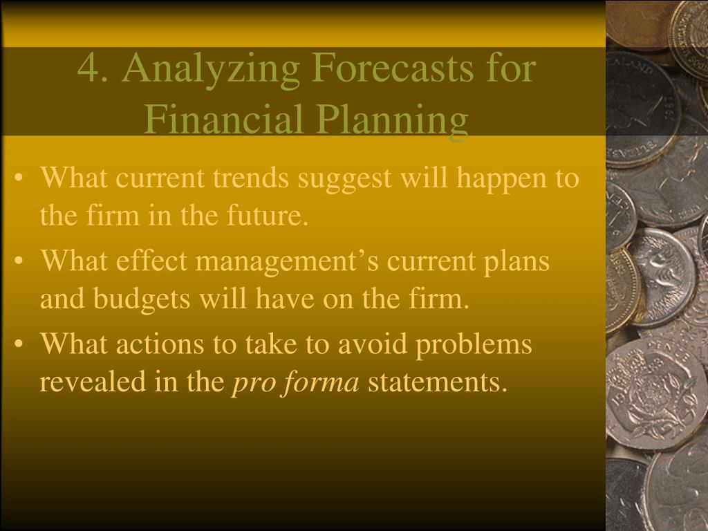 4. Analyzing Forecasts for Financial Planning