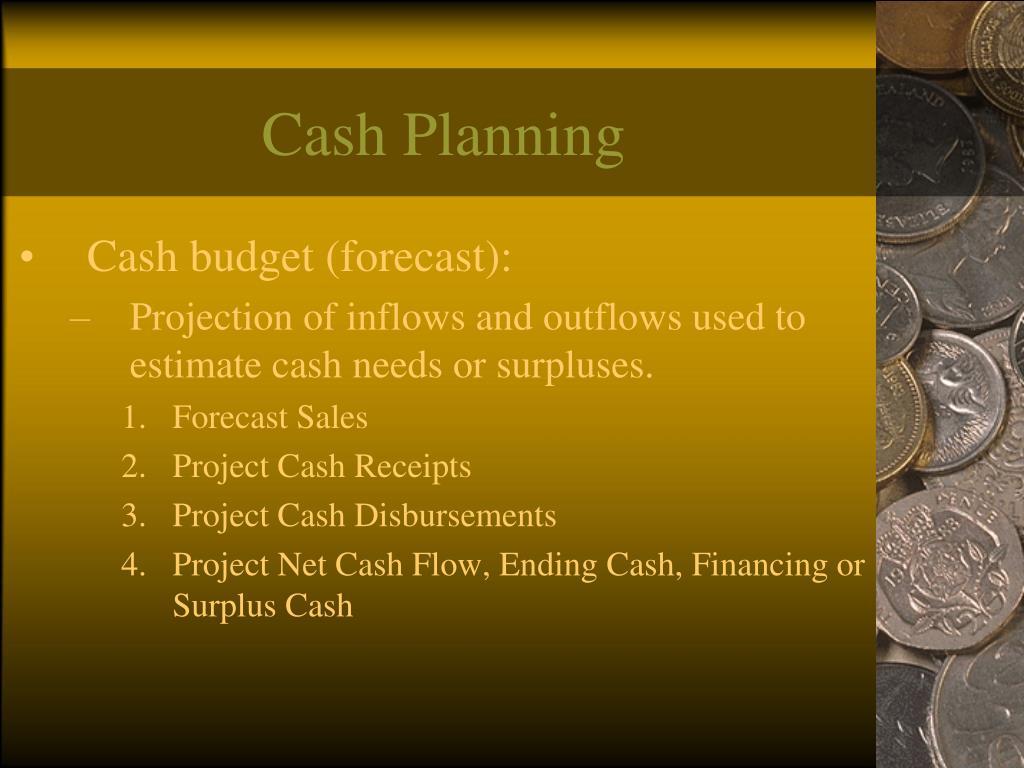 Cash Planning