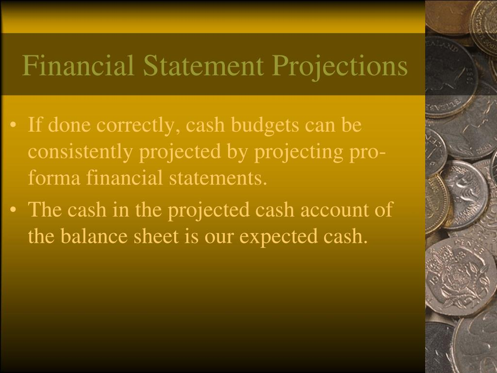 Financial Statement Projections