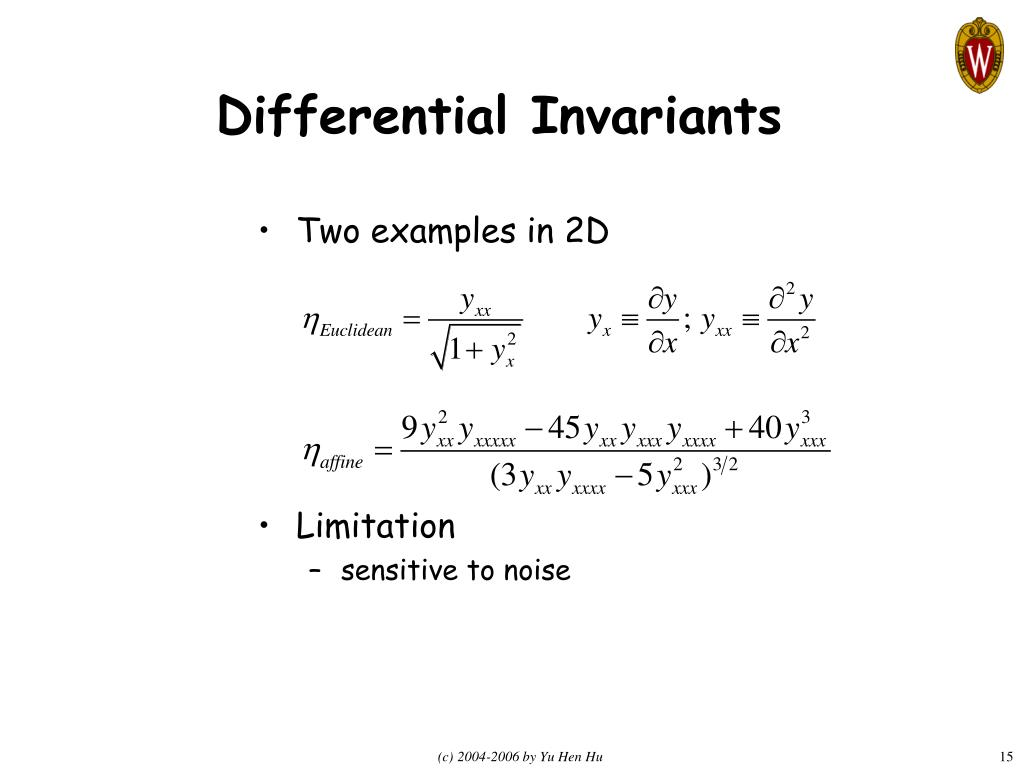 Differential Invariants