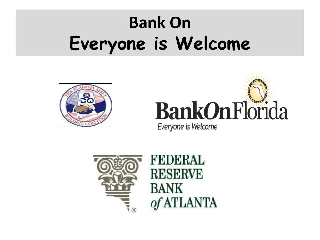 bank on everyone is welcome l.