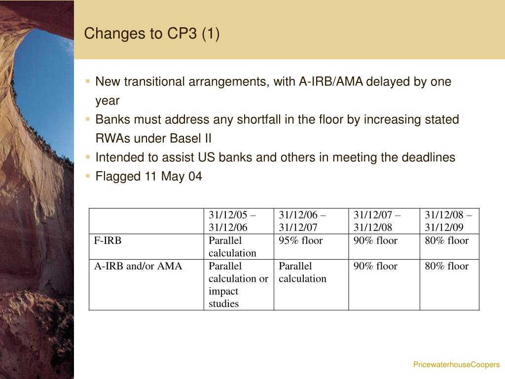Changes to CP3 (1)