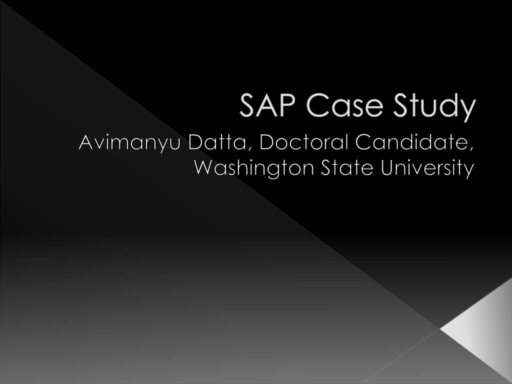sap america case study essay Free essays on case study sap america for students use our papers to help you with yours 1 - 30.