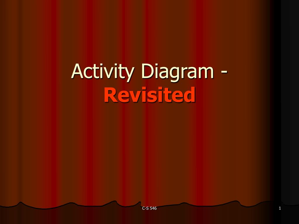 activity diagram revisited l.