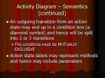 activity diagram semantics continued7